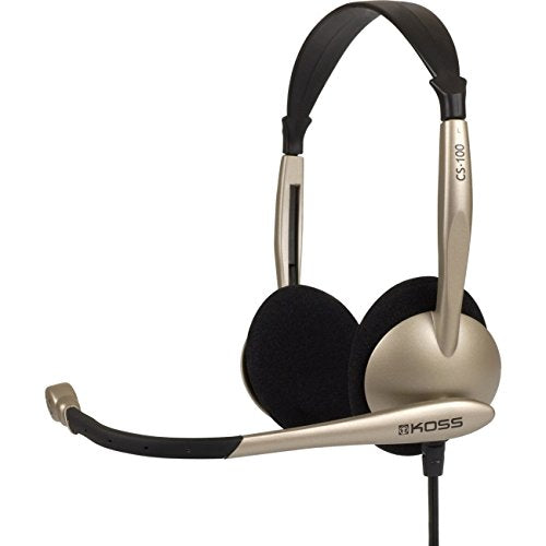 Koss Stereo PC Headset With Noise Canceling Microphone