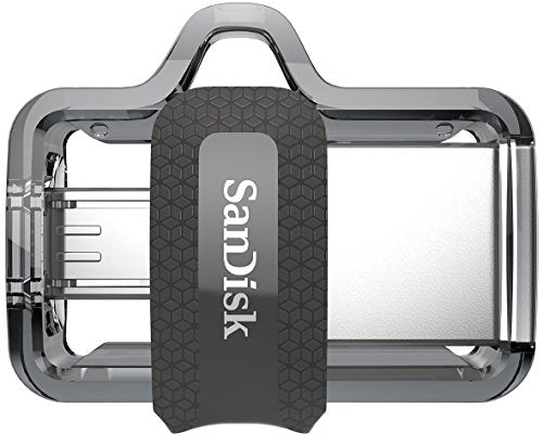 SanDisk Ultra 32GB (Two Pack Bundle) Dual Drive m3.0 (SDDD3-032G-G46) for Android Devices and Computers Flash Drive with Everything But Stromboli (TM) Lanyard