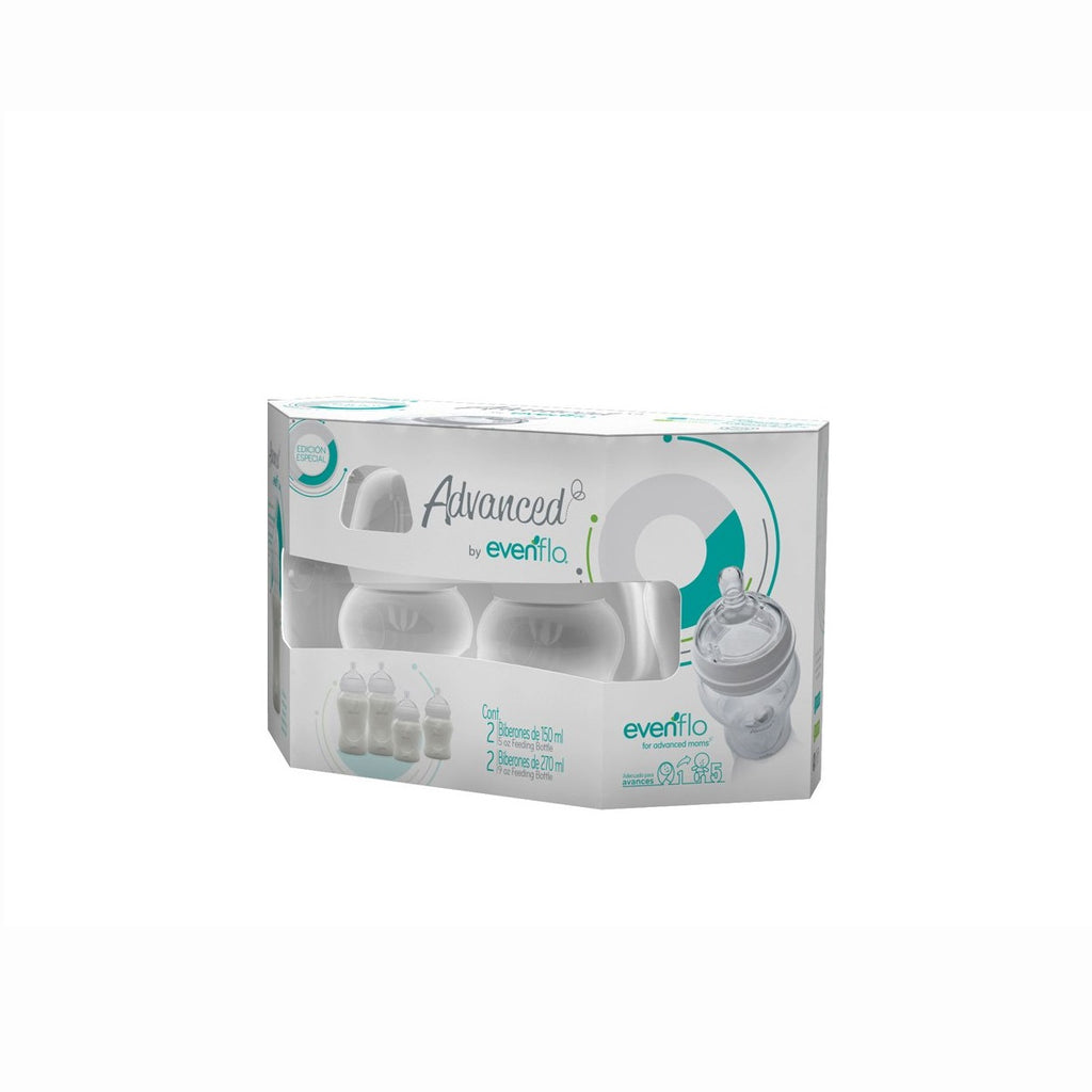 Set de Biberones Advanced Evenflo