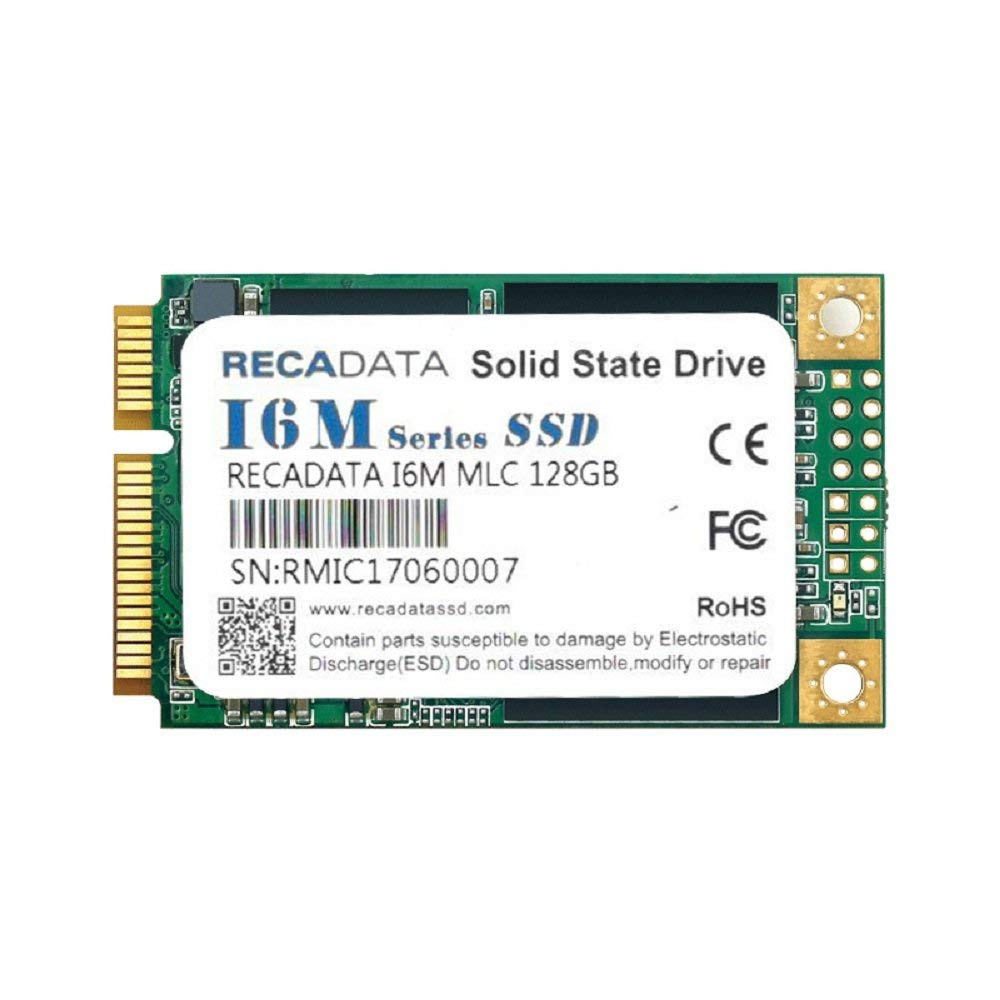 RECADATA mSATA III MLC High Level Enterprise Class Internal Solid State Drive SSD (64GB)