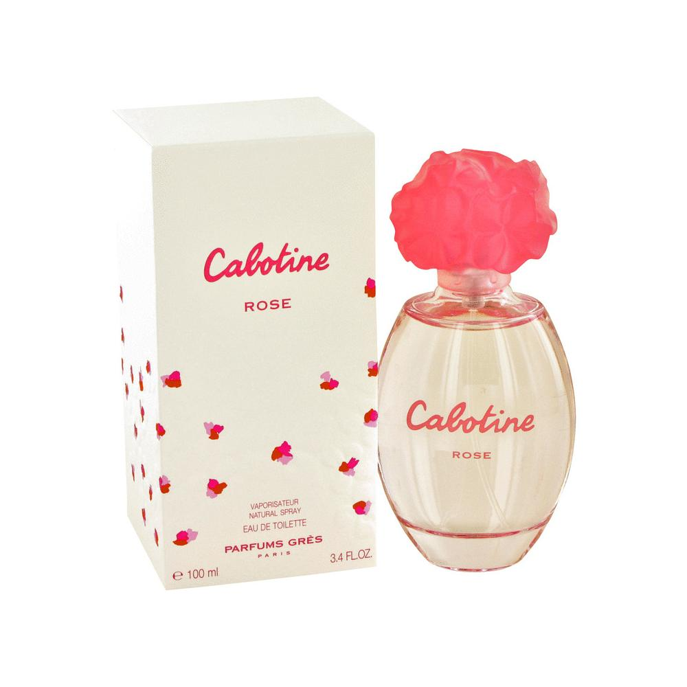 Cabotine Rose de Parfums Gres Eau De Toilette Spray 100ml/3.4oz para Mujer