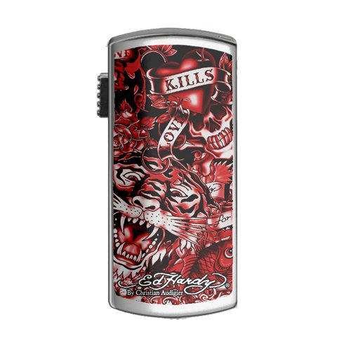 Ed Hardy Limited Edition 4 GB USB Drive UB09203-4 (Red)