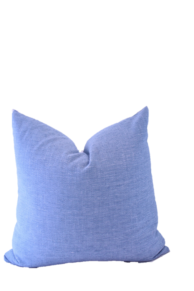 The Collective Label Box Pillow in Hydrangea