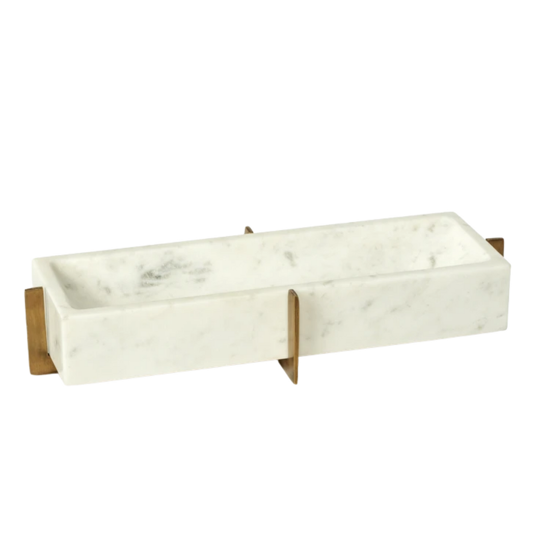 Carved Marble Tray