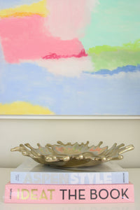 Gold Contemporary Tray