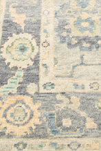 Hand-knotted Oushak Area Rug #1907065