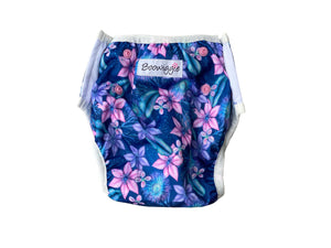 Reusable Swim Nappy - Floral Galaxy