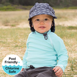 *Ships 21 October* Kids Rash Vest UPF50+ - Aqua