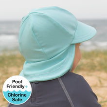 *Ships 21 October* Legionnaire Swim hat - Aqua UPF50+