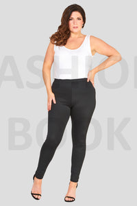 Svartar stretch leggings