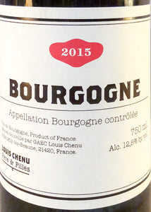 Delicious biodynamic Red burgundy - Chenut nfizz wines