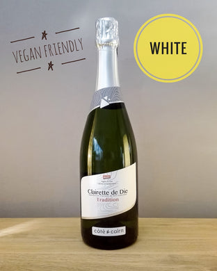 delicious biodynamic and vegan sparkling wine - clairette de Die nfizz wines