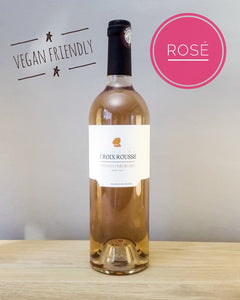 delicious biodynamic and vegan rosé wine - Provence domaine Croix Rousse nfizz wines