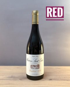 Delicious organic Red wine - Chateau Saint Esteve d'Uchaux cotes du rhone nfizz wines