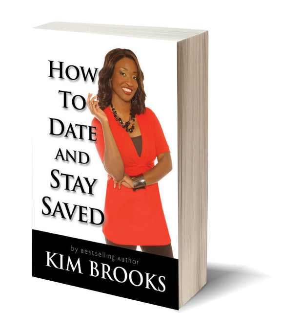 How To Date and Stay Saved AUTOGRAPHED Book *Free Shipping*