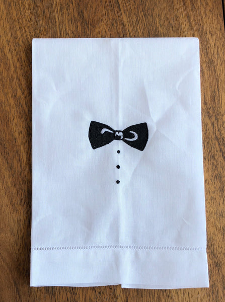 Bow Tie Guest Towel