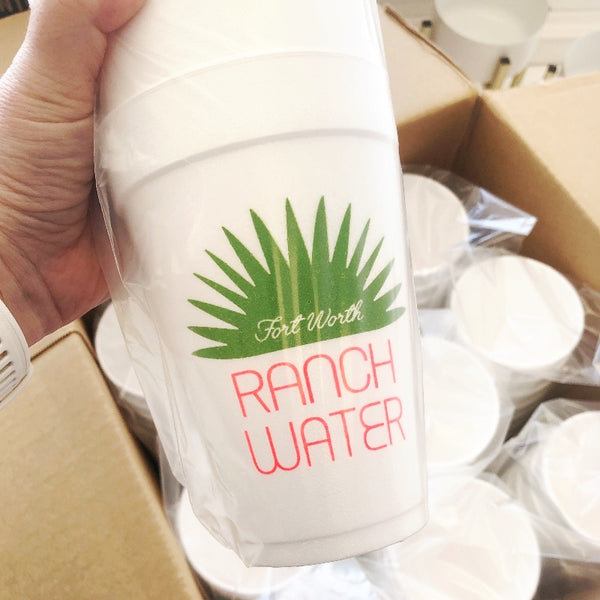 Ranch water cup