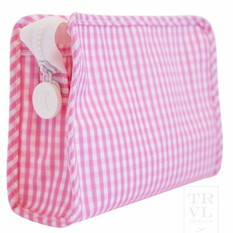 Pink Gingham Roadie