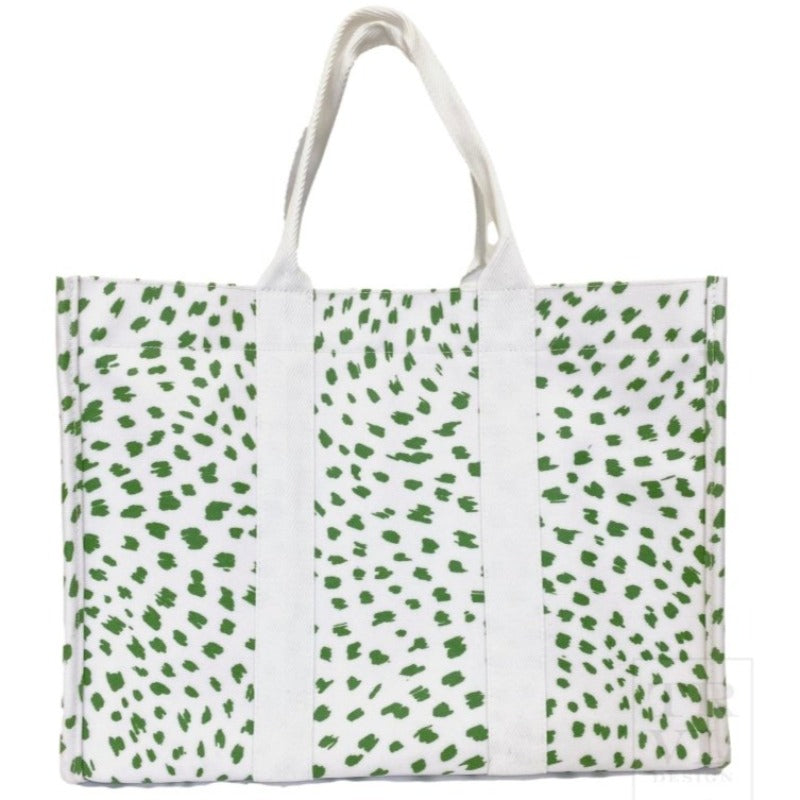 Spot On Tote Bag Green