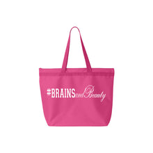 #BrainsandBeauty 📚💅🏾large tote