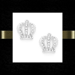 Crown Me earrings