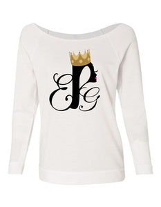 EPG Queen 👑 looseneck raglan