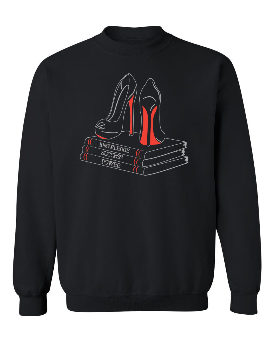 Knowledge, Success, Power 📚 sweatshirt
