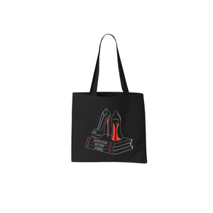 """Knowledge, Success Power"" tote bag"