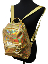Mini metallic back packs