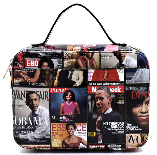 The Obama's Magazine Print Bible Case