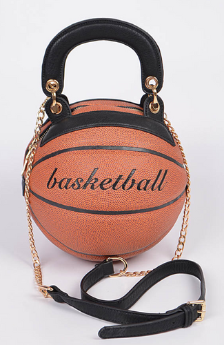 Basketball Clutch With Chain