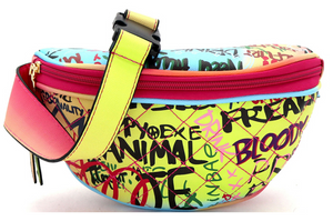 Graffiti Fanny Pack