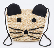 Mouse Straw Swing Bag