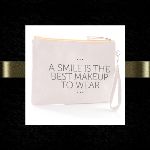 Smile Makeup Pouch