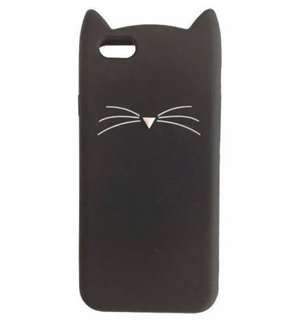 "Black ""I'm a Cat"" iPhone Case"