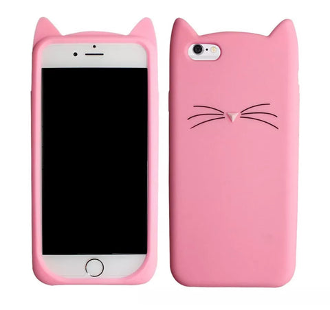 "Pink ""I'm a Cat"" iPhone Case"