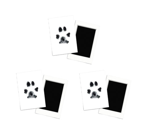 3-Pack Paw Print Stamp Pads