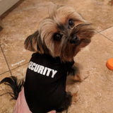 Security Pet Shirt