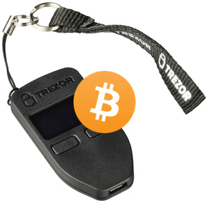 $100 Worth of Bitcoin Preloaded On A Trezor Cryptocurrency Hardware Wallet