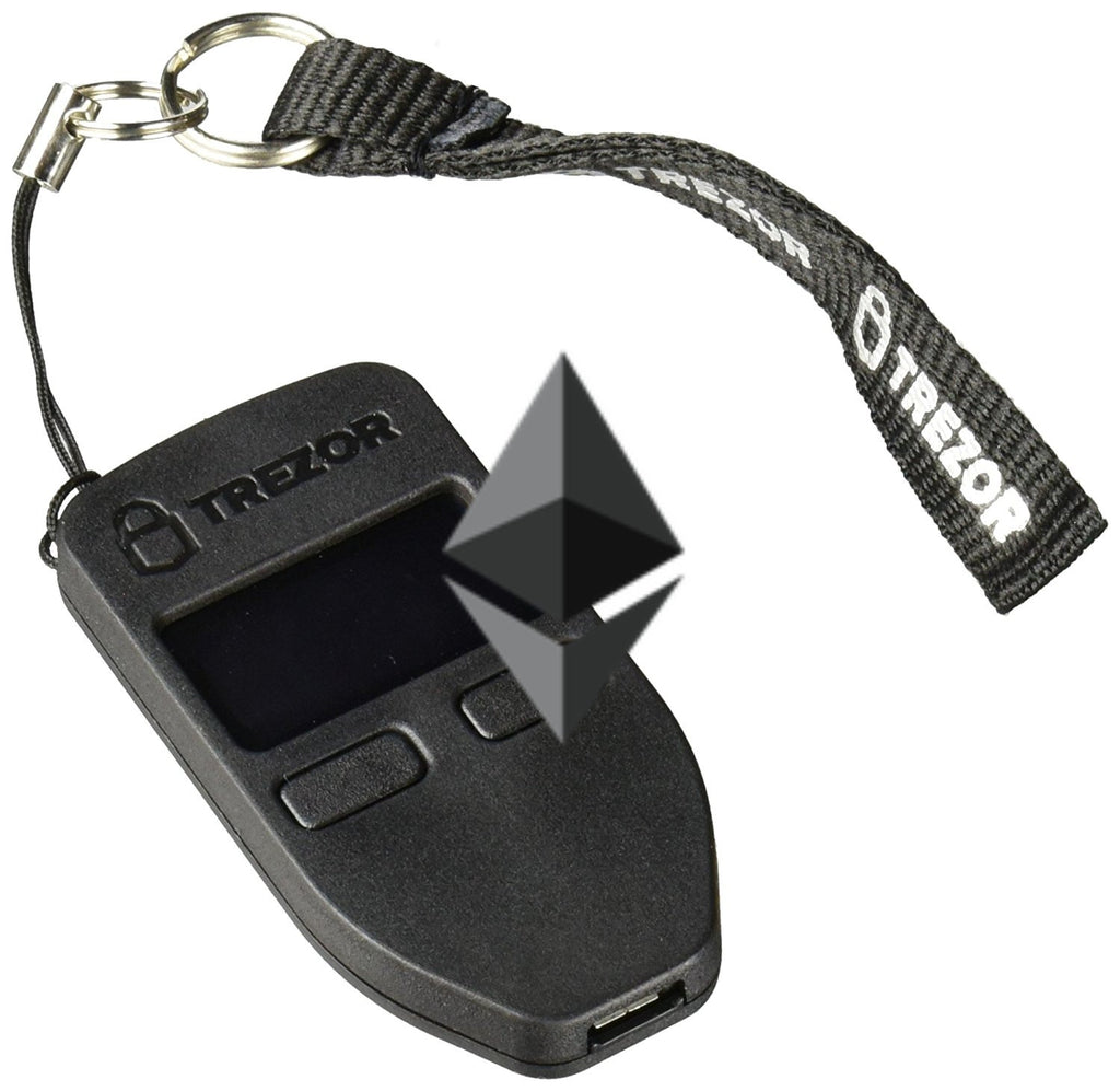 $100 Worth of Ethereum Preloaded On A Trezor Cryptocurrency Hardware Wallet