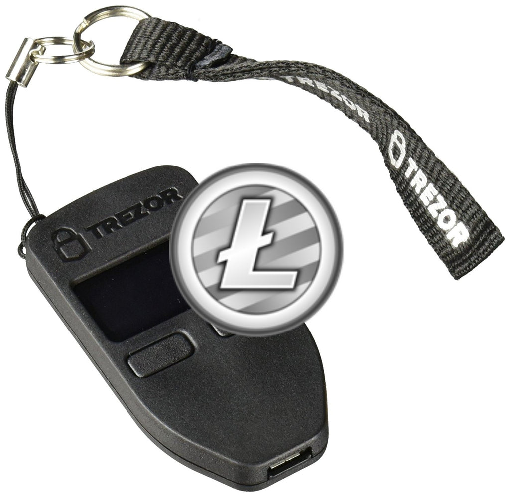 $100 Worth of Litecoin Preloaded On A Trezor Cryptocurrency Hardware Wallet