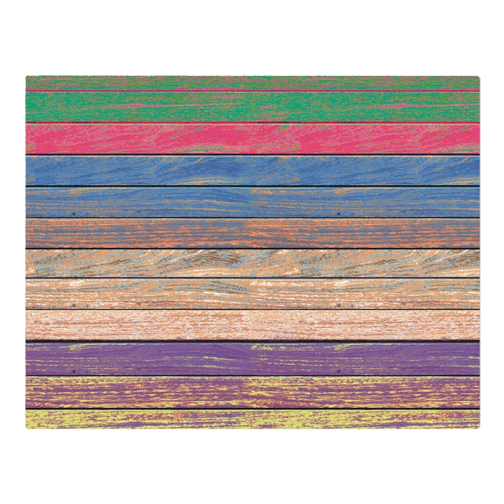 Wooden rainbow - woven placemat