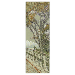 Central Park Bridge - digital art, wall art, canvas wrap, ready to hang
