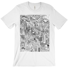 NYC - high quality t-shirt with artwork