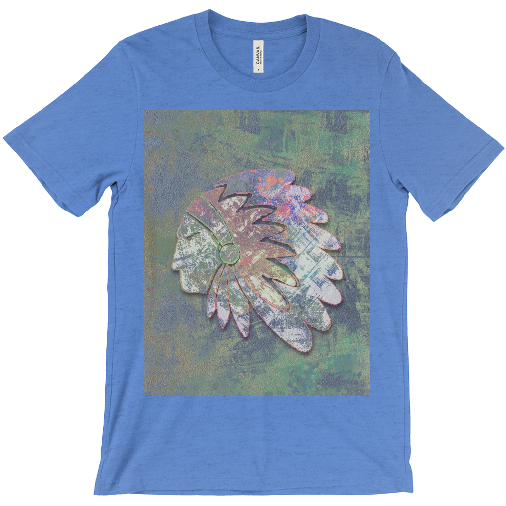 Big Chief - high quality t-shirt with artwork