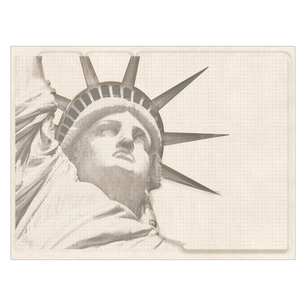 Lady Liberty - digital art, wall art, canvas wrap