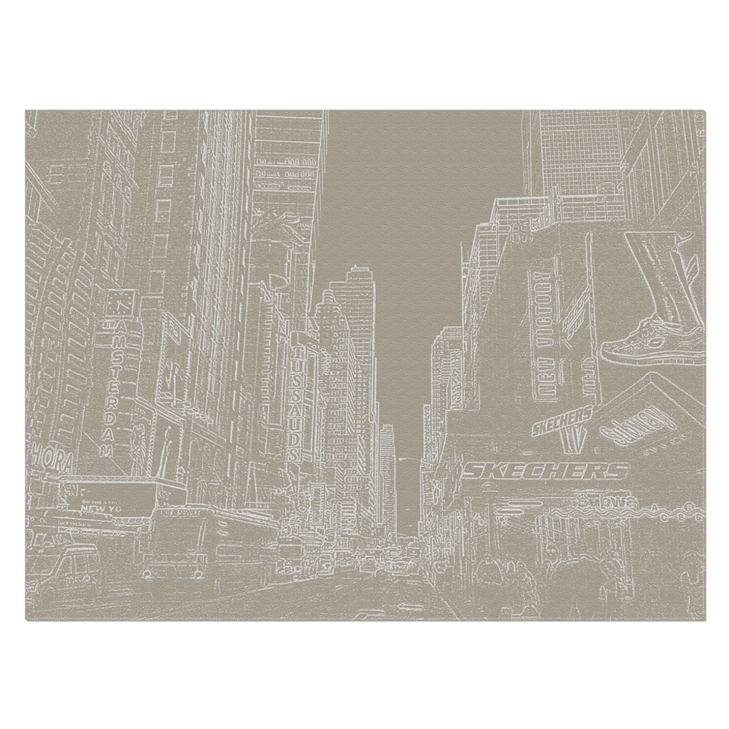 Times Square & 42nd Str. - a unique view of the most intense area of Manhattan, wall art, canvas wrap