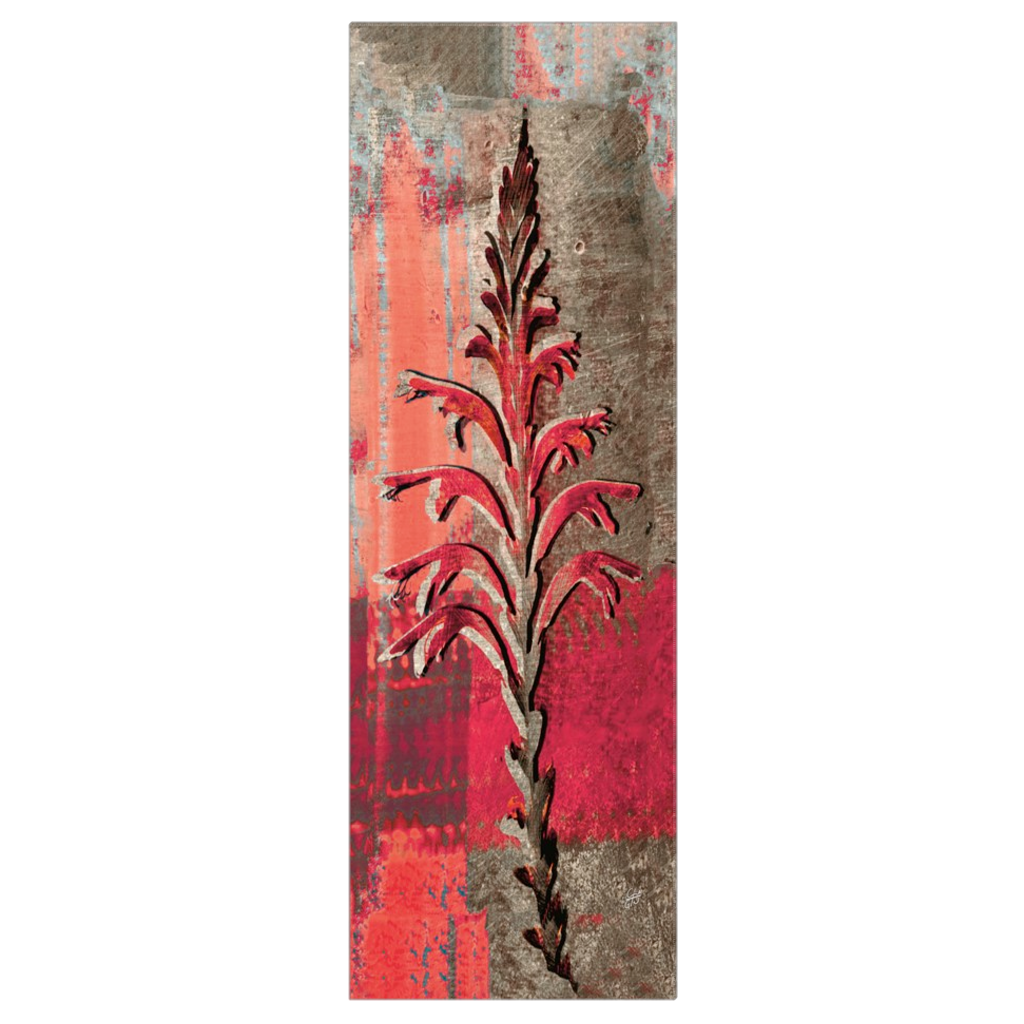 Red Lily - digital art, wall art, canvas wrap, ready to hang