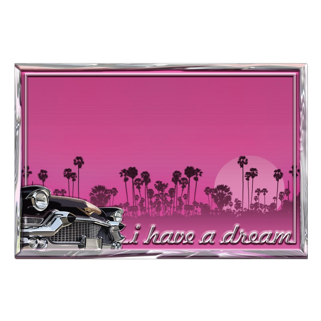 I Have A Dream - digital art, wall art, canvas wrap, ready to hang.