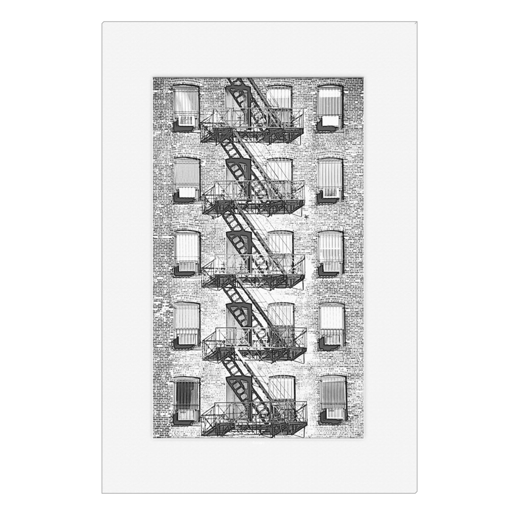 Escape - New York, NYC, digital art, wall art, canvas wrap, ready to hang
